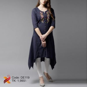 Linen Kurti with Legging