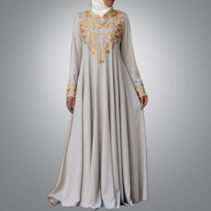 Light Ash Abaya