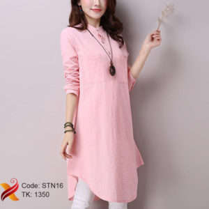 Cotton Pink Shirt